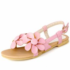 ENMAYER Back Strap Buckle Soft Leather Leisure Women Sandals Solid Flowers Slides Sandals Shoes Women BIG Size 34 43-in Women's Sandals from Shoes on Aliexpress.com | Alibaba Group