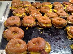 """Bucket List Foods: Donut Bacon Cheeseburger AKA the """"Luther"""""""