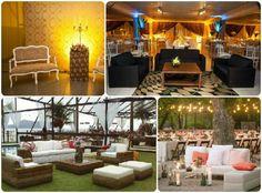 Como aproveitar melhor os espaços decorados do seu evento com funcionalidade e estilo? Fácil!!! Componha um Lounge bem elegante e aconchegante, que proporcione conforto e interação aos seus convidados.