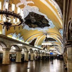 Pałace dla ludu #toniemuzeum #metro #moskwa