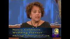 CT wedding officiant Zita Christian interviews Glastonbury wedding planner Nancy Goldstein