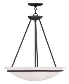 Livex Lighting 4826-04 Newburgh Pendant in Black
