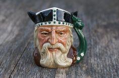 Royal Doulton Viking Character Mug Mini Toby Jug