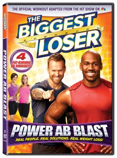 Biggest Loser: Power Ab Blast - Drop inches from your waistline with the sculpting moves in POWER AB BLAST. You've seen contestants dramatically slim down on NBC's hit series The Biggest Loser and now it's your turn! Shape a strong and defined core with POWER AB BLAST workout! Burn belly fat and get those sexy chiseled abs you've always wanted with trainers Bob Harper and Dolvett Quince.