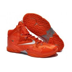 Nike Elite Mens Shoes Zoom Lebron Xi 11 P.s. Red Silver