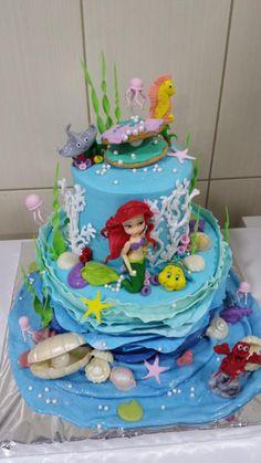 LITTLE MERMAID CAKE LITTLE MERMAID BIRTHDAY