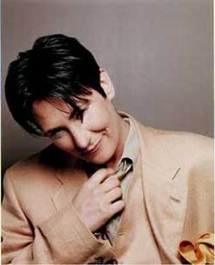 """K.D. Lang; """"Life is so impermanent that it's not about somebody else or things around me, it's about knowing you are completely alone in this world and being content inside."""""""
