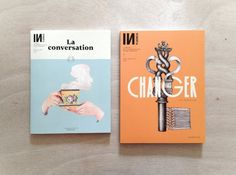 Influencia N°6 & Special Issue by Violaine & Jeremy, via Behance