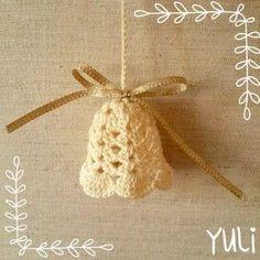 crochet xmas ornament