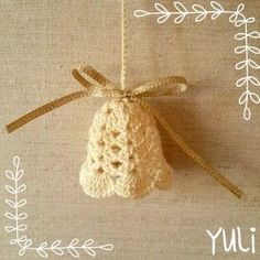 crochet xmas ornament