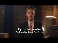 Push For Pizza app, The Easiest Way To Order Pizza Ever.