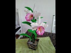 Herthal art's: orquidea cattleya de e.v.a
