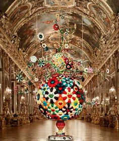 Takashi Murakami exhibit at Versailles