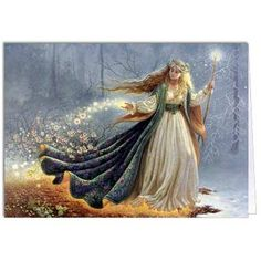The spring fairy arrives, magically transforming winter's ice into colorful blossoms...
