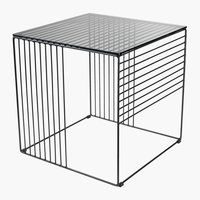 Mici schimbări cu piese mici de mobilier | JYSK Coffee And End Tables, Door Steps, Square Tables, Black Glass, Outdoor Furniture, Outdoor Decor, Own Home, Minimalism, Ottoman