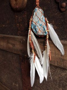 Macrame Crystal Necklaces