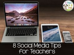 2 Peas and a Dog: 8 Social Media Tips for teachers. Great reminders for teachers on appropriate ways to interact on social media. Plus why oversharing on social media is unsafe.