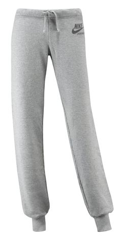 Pantaloni Nike Team Cuff    Pantalone felpa Nike donna con logo frontale. Colore grigio.