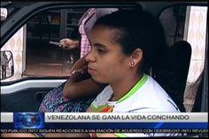 Una Historia De Superación: Joven Maestra Venezolana  Se Gana La Vida Conduciendo Un Minibús En Santo Domingo
