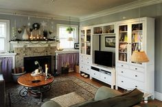 Living Room - eclectic - living room - portland - by Julie Smith