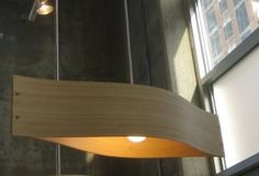 Longboard BAMBOO Pendant Lamp Free Shipping by baldmanmod on Etsy, $199.00