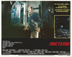Meteor - Lobby card with Sean Connery