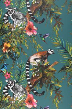 Madagascar | Tapeten der 70er