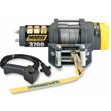 MOOSE 1678 Kg WINCH3,700-lb. rated pullWire rope