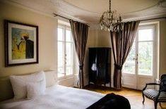 Hôtel La Maison d'Igor Restaurant, Curtains, Home Decor, Houses, Blinds, Restaurants, Interior Design, Draping, Home Interior Design