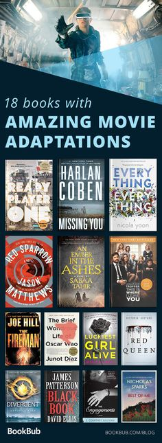 This is a reading list to read before going to see the movie. These novels feature all kinds of stories some are about friends, others about life, and a few are based on true stories.