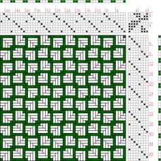 Hand Weaving Draft: Page 166, Figure 4, Orimono soshiki hen [Textile System], Yoshida, Kiju, 8S, 8T - Handweaving.net Hand Weaving and Draft...