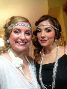 Gatsby hair and make up!@Kirsten Wehrenberg-Klee F