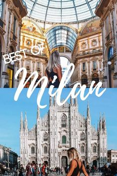 Milan is one of the most popular cities in Italy. Find out the best things to do, places to see and where to eat if you're only visiting Milan for one day. #BestCities