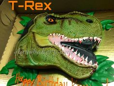 Leslie's Cool Cakes from Stan's Northfield Bakery: T-Rex Cake