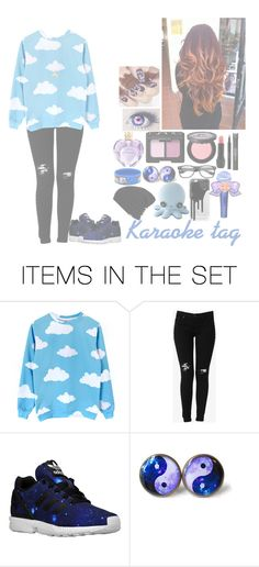 """The karaoke tag"" by hetalia-lover ❤ liked on Polyvore featuring art"