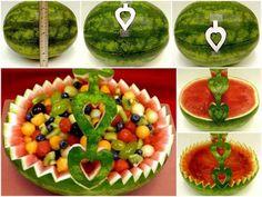 watermelon center piece