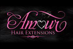 Hair Extensions Business Logo Hair Tag Logo Hang Tag Logo
