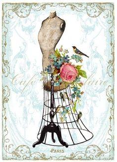 Wendy Paula Patterson - vintage clip art, ╭ (╯ ^ ╰) ╮ retro resistance against incompetent ah ...... _Asyuran