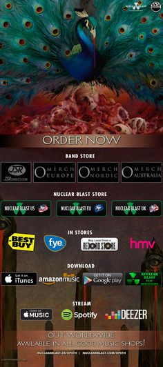 Opeth - Official Website | Stores