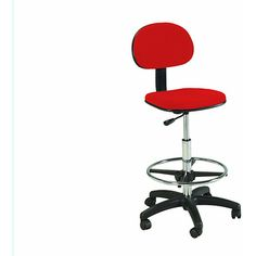 Shop for Martin Stiletto Red Drafting-height Chair with Pneumatic Lift. Get free delivery at Overstock.com - Your Online Art Supplies Store! Get 5% in rewards with Club O!