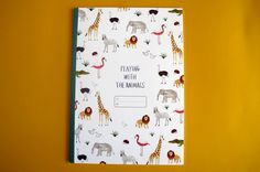 Animals Notebook £5.50 Anorak