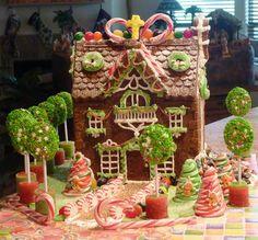 Muy parecida a la caasita de hansel y grettel q me hicieron de torta a los 6 años!! :)