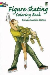 Figure Skating Coloring Book
