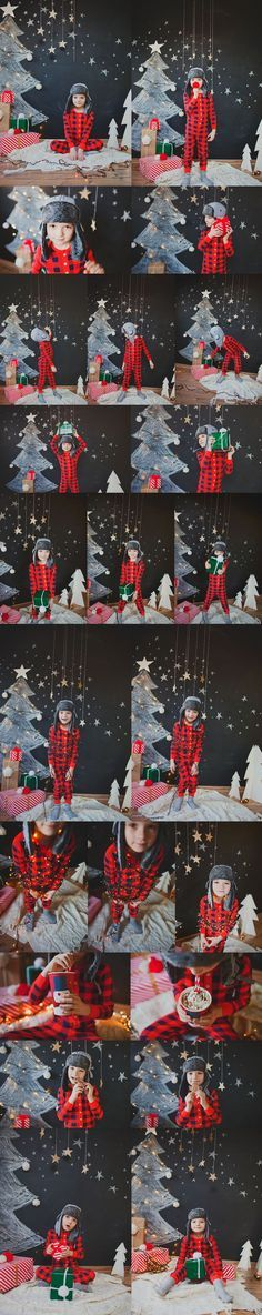 Chalkboard Trees - Perfect backdrop & props for holiday photo. Ideas for family portraits & Christmas cards. Creative twist for annual photo of your kids. DIY keepsakes, decorations, scrapbooking, journaling, photography & party photo booths.:
