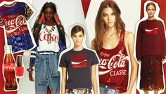 If only this was affordable!!!! Love it! Coca-Cola Says 'Peace Out, Supermarket' And Heads To The Runway For Spring