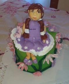 mais uma experiencia no cake design...
