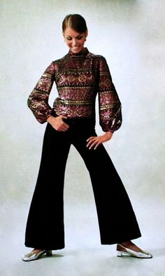 Fashion for Günther Moden, January 1970