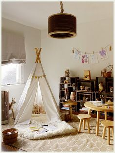 i grew up making tents and tepees with my brothers - love them for my kids