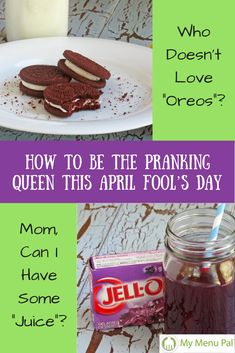 This April Fool's Day turn the table on your kids by pulling some fun and easy food-related pranks. We have 4 to choose from to try.