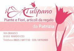 Biglietto da visita - Il tulipano